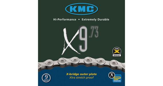 KMC X-9-73 Kjede 9-speed Grå